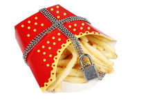 Unhealthy food Stock Image