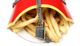 Unhealthy food Royalty Free Stock Photo