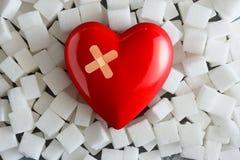 Unhealthy food concept - sugar royalty free stock image