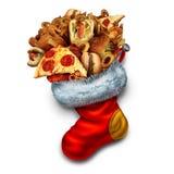 Unhealthy Holiday Eating Royalty Free Stock Photo