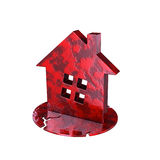 Unhealthy house metaphor 3d model Stock Image
