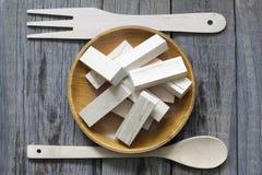Unhealthy junk food creative concept Stock Image