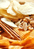 Unhealthy snack stock photography