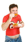 Unhealthy Stadium Food Royalty Free Stock Photo