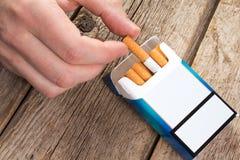 Unhealthy way of life Stock Photos