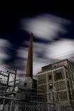Unheimliche städtische Nacht Lizenzfreies Stockfoto
