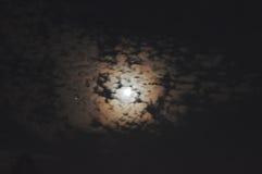 Unheimlicher Mond Lizenzfreie Stockfotografie