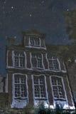 Unheimliches Haus Stockfotos