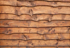 Unhewn wooden boards Stock Photography