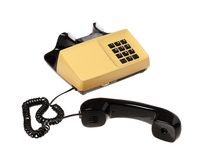 Unhooked telephone Royalty Free Stock Image