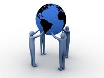 União do mundo ilustração stock