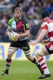 2011 união do rugby de Aviva Premiership, arlequins v Gloucester, Sept Imagens de Stock