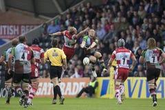 2011 união do rugby de Aviva Premiership, arlequins v Gloucester, Sept Foto de Stock