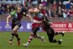 2011 união do rugby de Aviva Premiership, arlequins v Gloucester, Sept Imagem de Stock