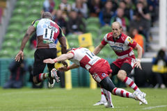 2011 união do rugby de Aviva Premiership, arlequins v Gloucester, Sept Foto de Stock Royalty Free