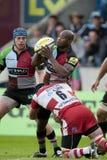 2011 união do rugby de Aviva Premiership, arlequins v Gloucester, Sept Fotos de Stock