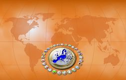 União Europeia Imagem de Stock Royalty Free