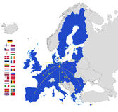 União Europeia Fotos de Stock