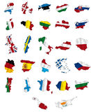 União Europeia ilustração do vetor