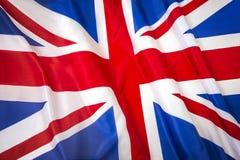 União Jack Flag Foto de Stock