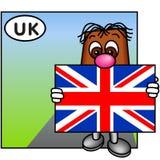 A união Jack, Reino Unido Fotografia de Stock Royalty Free