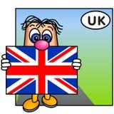 A união Jack, Reino Unido Fotografia de Stock