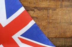 Unión BRITÁNICA Jack Flag de Gran Bretaña Fotografía de archivo
