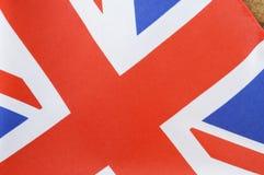 Unión BRITÁNICA Jack Flag de Gran Bretaña Fotografía de archivo libre de regalías