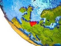 Unión de Benelux en la tierra 3D libre illustration