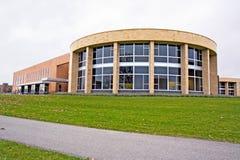 Unión de estudiante en un campus universitario Fotografía de archivo