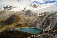 Unión de Punta, Blanca de Cordillera, Santa Cruz Trek Imagen de archivo libre de regalías