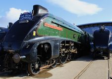 Unión del tren del vapor A4 de Suráfrica Imágenes de archivo libres de regalías