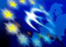 Unión europea ilustración del vector