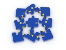 Unión europea Foto de archivo libre de regalías