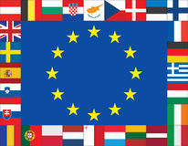 Unión europea Imagen de archivo