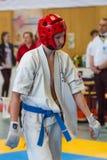 Unión europea KWU del mundo de Kyokushin del campeonato para los niños y la juventud 2017 Foto de archivo libre de regalías