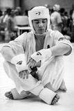 Unión europea KWU del mundo de Kyokushin del campeonato para los niños y la juventud 2017 Foto de archivo