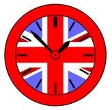 Unión Jack Clock libre illustration
