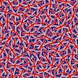 Unión Jack Pattern Foto de archivo libre de regalías