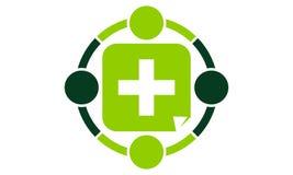 Unión médica de la salud libre illustration