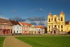 Unión Timisoara cuadrado, Rumania Foto de archivo libre de regalías