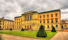 Uni bastiony stary budynek uniwersytet Genewa zdjęcia royalty free