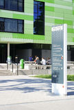 Uni Mainz Georg Forster costruziona Fotografia Stock