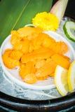Uni sashimi Royaltyfri Bild
