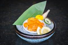 Uni sashimi Royaltyfri Foto