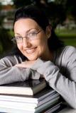 Uni student stock image
