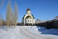 A Uniat church  in Astana / Kazakhstan Stock Images