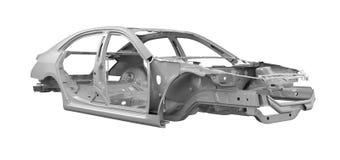 Unibody-Auto-Fahrgestelle stockfoto