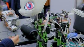 Unicórnio bonito do robô filme