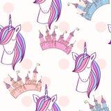 Unicórnio bonito mágico ilustração royalty free
